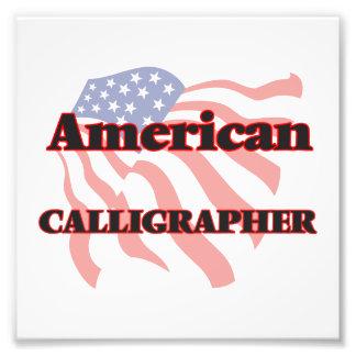 American Calligrapher Photo Art