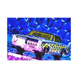 American Car 2 - Photoworks Jean Louis Glineur Canvas Print