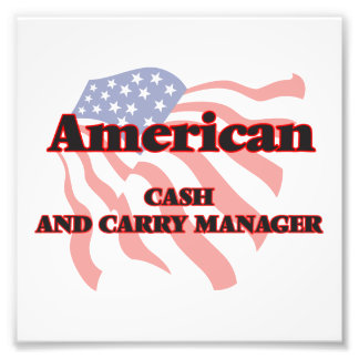 American Cash And Carry Manager Photo Art