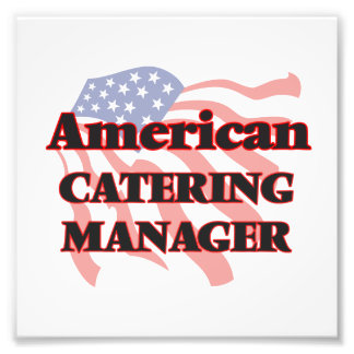 American Catering Manager Photo Art