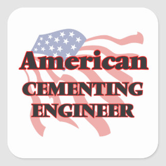 American Cementing Engineer Square Sticker