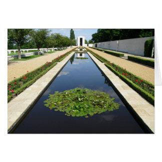American Cemetery, Cambridge Card