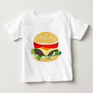 American cheeseburger baby T-Shirt