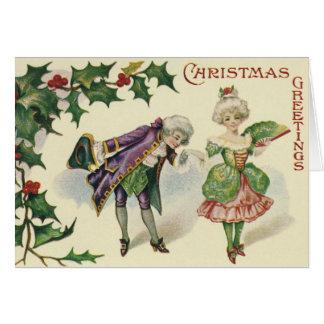 AMERICAN CHRISTMAS CARD. CARD