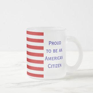 American Citizenship Flag Mug
