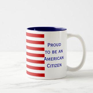 American Citizenship Flag Mug Coffee Mugs