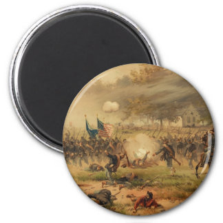 American Civil War Battle of Antietam Sharpsburg 6 Cm Round Magnet