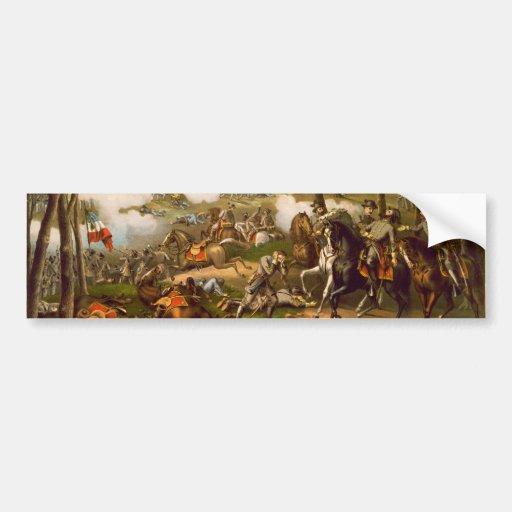 American Civil War Battle of Chancellorsville Bumper Sticker
