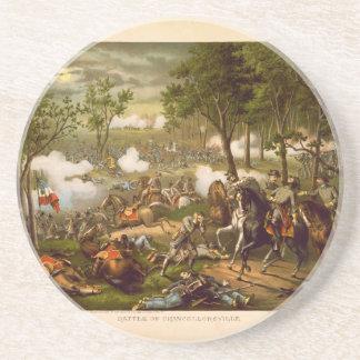 American Civil War Battle of Chancellorsville Coaster