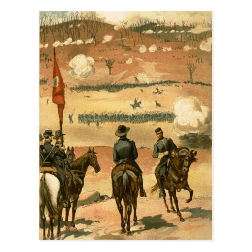 American Civil War Battle of Chattanooga 1863 Post Card