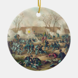 American Civil War Battle of Fort Donelson 1862 Christmas Tree Ornament