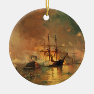 American Civil War Capture of New Orleans Christmas Ornament