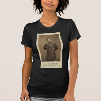 American Civil War General George B McClellan T-Shirt