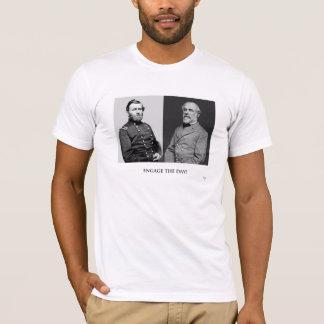 American Civil War Generals * Engage the Day! T-Shirt
