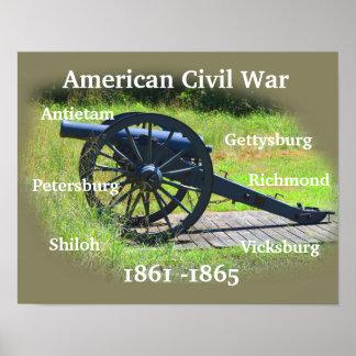 American Civil War - Poster