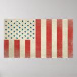 American Civilian Flag of Peace Print