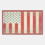 American Civilian Flag Vintage Stickers