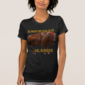 American Classic Buffalo by Fractal Tees(TM) T-Shirt