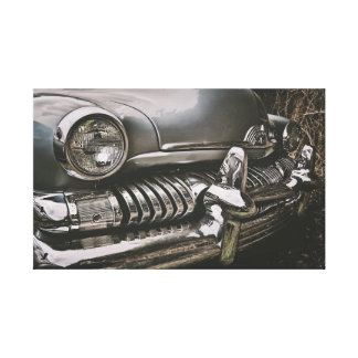 American classic cars canvas print