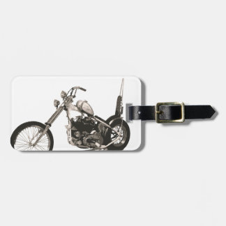 American Classic Chopper Motorcycle Luggage Tag