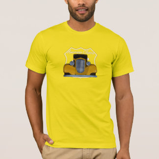 American Classic Hotrod Route 66 T-Shirt