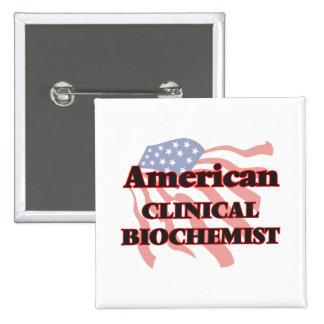 American Clinical Biochemist 15 Cm Square Badge