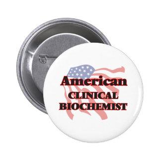 American Clinical Biochemist 6 Cm Round Badge