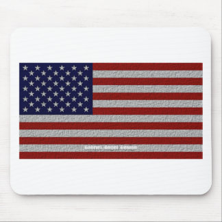 American Cloth Flag Mouse Pads