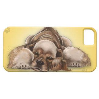 American Cocker Spaniel Buff Cocker Dog iPhone 5 iPhone 5 Case