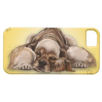 American Cocker Spaniel Buff Cocker iPhone 5 Case
