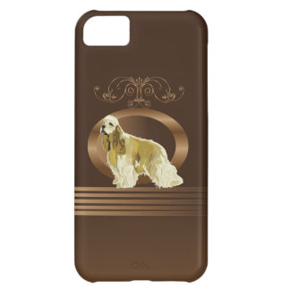 American cocker spaniel case for iPhone 5C
