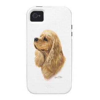 American Cocker Spaniel iPhone 4/4S Cover