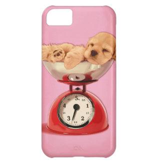 American cocker spaniel in retro kitchen scale case for iPhone 5C