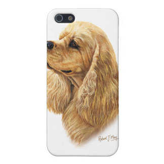 American Cocker Spaniel iPhone 5/5S Covers