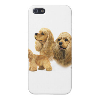 American Cocker Spaniel iPhone 5 Case