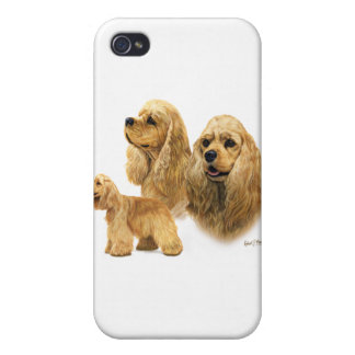 American Cocker Spaniel Cover For iPhone 4