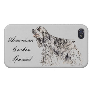 American Cocker Spaniel iPhone Case iPhone 4 Cases