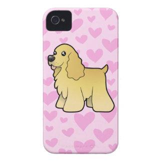 American Cocker Spaniel Love iPhone 4 Case