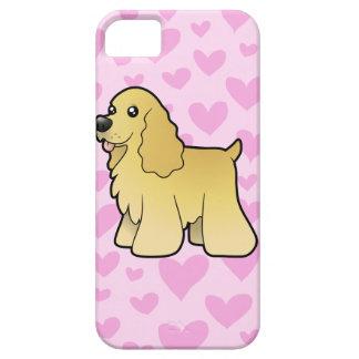 American Cocker Spaniel Love iPhone 5 Covers