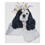 American Cocker Spaniel Party Animal