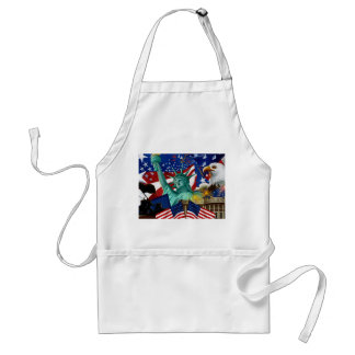 AMERICAN COLLAGE STANDARD APRON