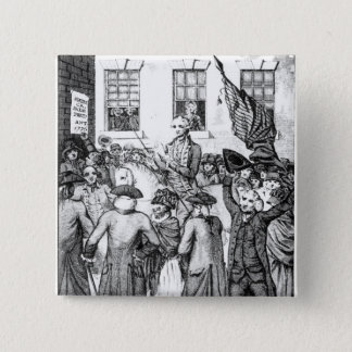 American Colonists Declared Themselves 15 Cm Square Badge