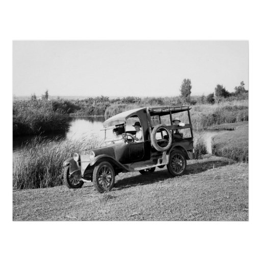 American Colony Truck, early 1900s Print