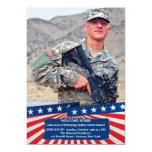 American Colours Photo Patriotic Invitation