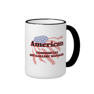American Commercial Art Gallery Manager Ringer Mug