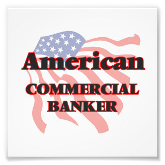 American Commercial Banker Photo Art
