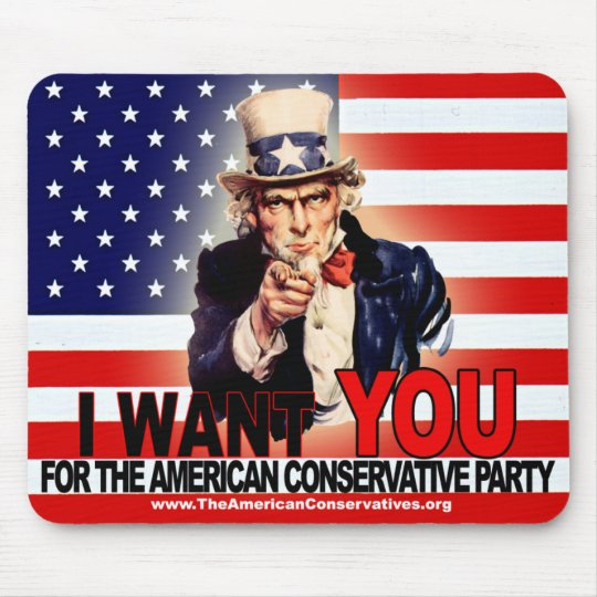 American Conservative Party Mouse Pad
