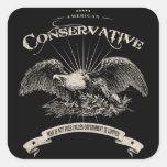 American Conservative Square Sticker