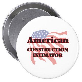 American Construction Estimator 10 Cm Round Badge