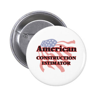 American Construction Estimator 6 Cm Round Badge